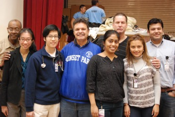 Above Assemblyman Feliz W. Ortiz (Center) AMPHS Stuff (Left/Right)