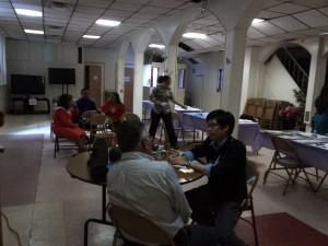 Screening at Pentecostal Church El Camino with Hewett Chiu