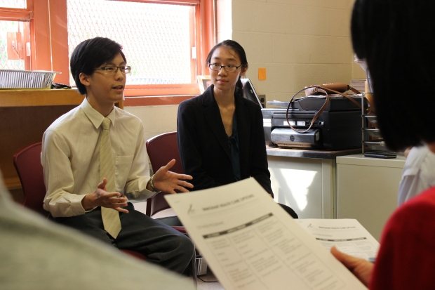 AMPHS's Hewett Chiu and Mon Yuck Yu